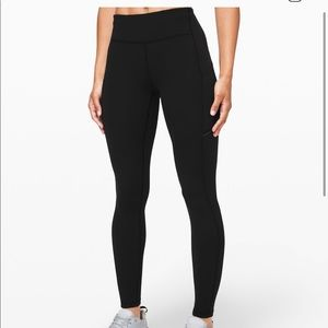 Lululemon speed up tight black size 6